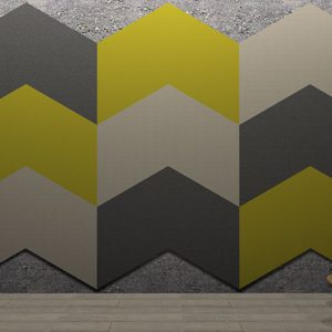 Adhesive Wall and Ceiling Panels Chevrons