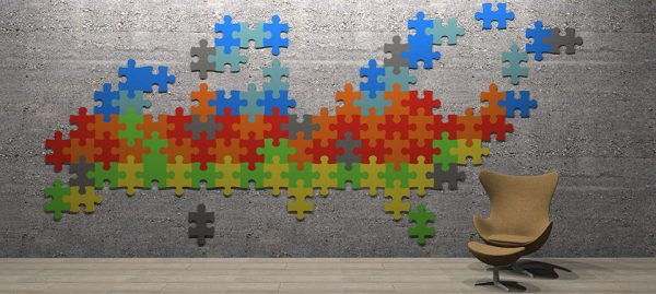 Adhesive Wall and Ceiling Panels Jigsaw