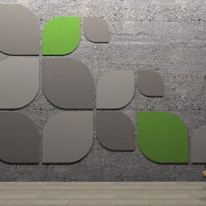 Adhesive Wall and Ceiling Panels Leaf