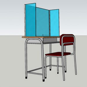 u Shape School Screen