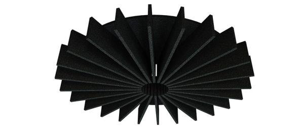 Acoustic Baffles 15 Degree Radial