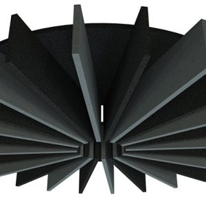 Acoustic Baffles 30 Degree Radial