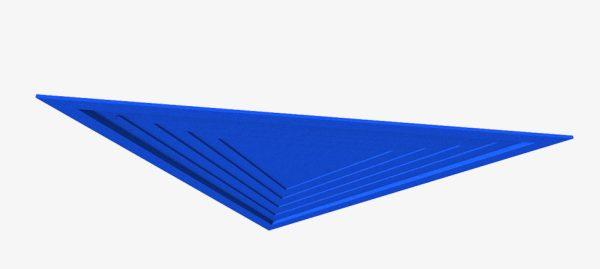 Acoustic Baffles Pyramid Stepped