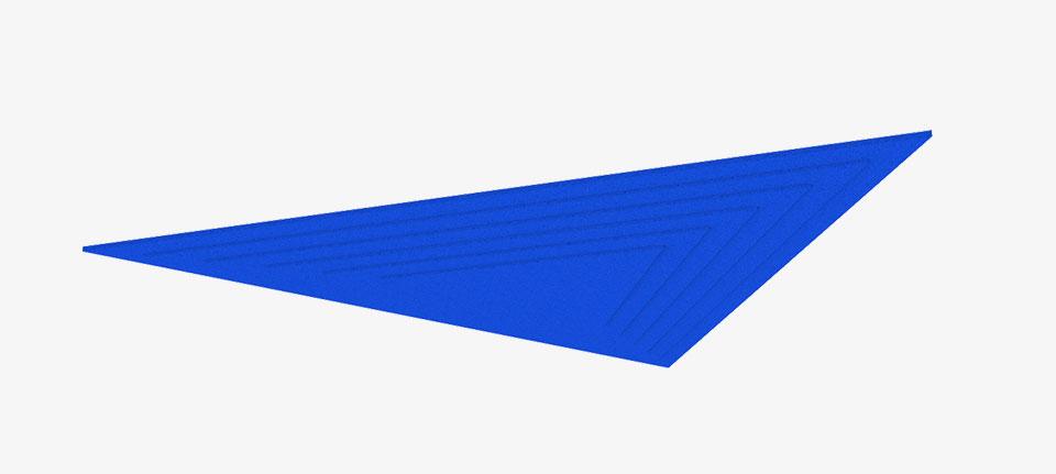 Adhesive Wall and Ceiling Panels Pyramids